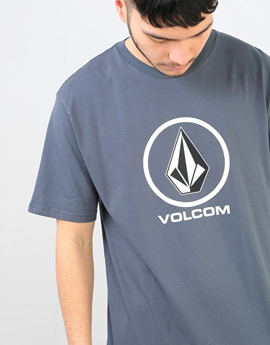 Volcom Crisp Stone T-Shirt - Midnight Blue