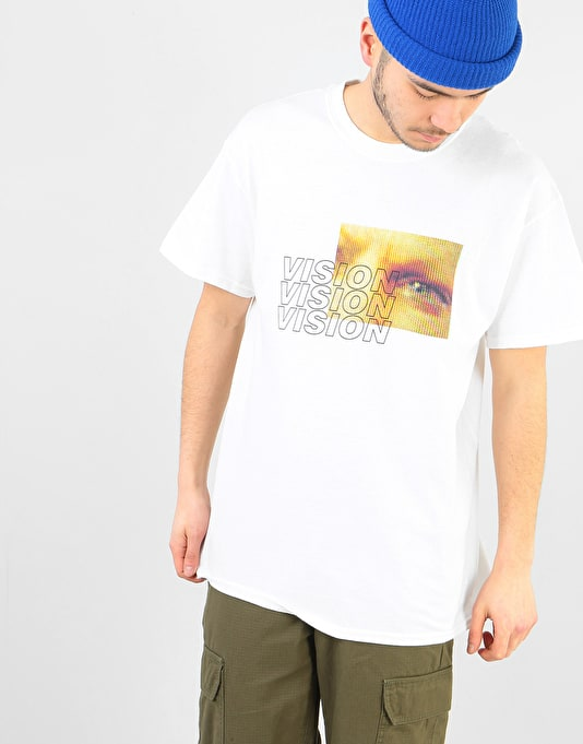Route One Vision T-Shirt  - White