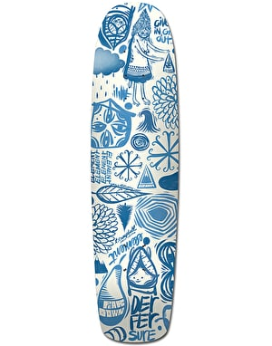 Element x Thomas Campbell Everything Indigo Skateboard Deck - 7.7