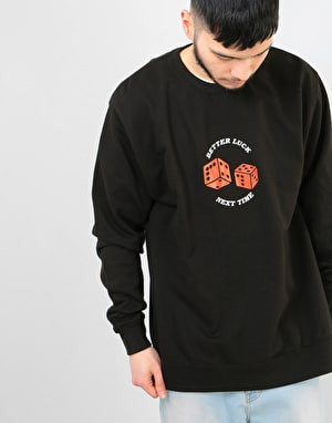 Route One Better Luck Next Time Sweatshirt - Black