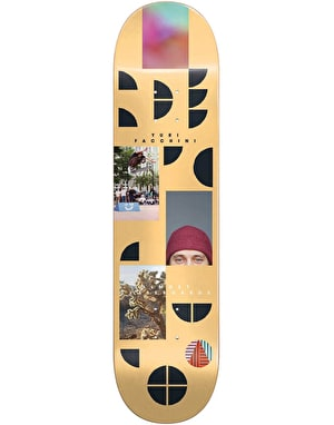Almost Yuri Fragments Skateboard Deck - 8.125
