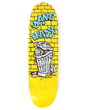 Polar Brady Trash Can Skateboard Deck - FOOTBALL Shape 8.75