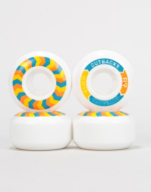 Flip Cutback 99a Skateboard Wheels - 51mm