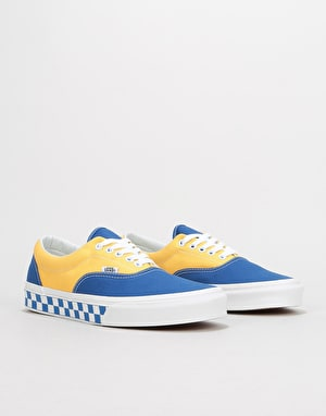 Vans Era Skate Shoes - (BMX Checkerboard) True Blue/Yellow