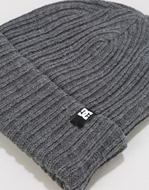 DC Fish n Destroy Beanie - Heather Grey