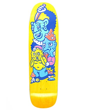 Polar Grund Meltdown Skateboard Deck - P9 Shape 8.625