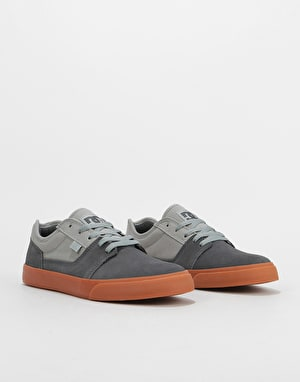DC Tonik Skate Shoes - Grey/Light Grey