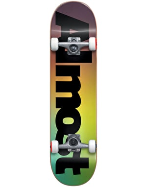 Almost Black Fade Complete Skateboard - 7.625