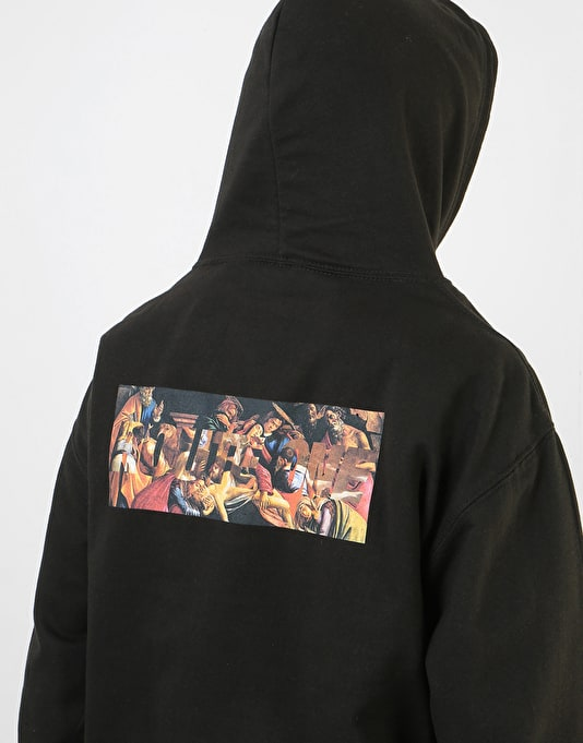 Route One Old Masters II 'Baroque' Pullover Hoodie - Black