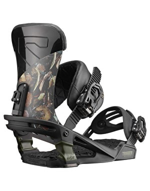 Salomon Trigger 2019 Snowboard Bindings - Camo