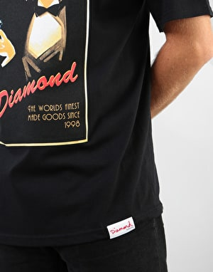 Diamond Worlds Finest T-Shirt - Black