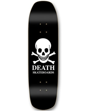 Death OG Skull 'Pool Shape' Skateboard Deck - 9