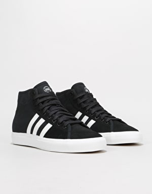 Adidas Matchcourt High RX Skate Shoes - Core Black/White/Gum