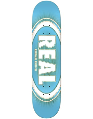 Real Oval Burst Fade Skateboard Deck - 8.5