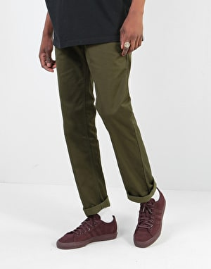 DC Worker Straight Denim Jeans - Dark Olive