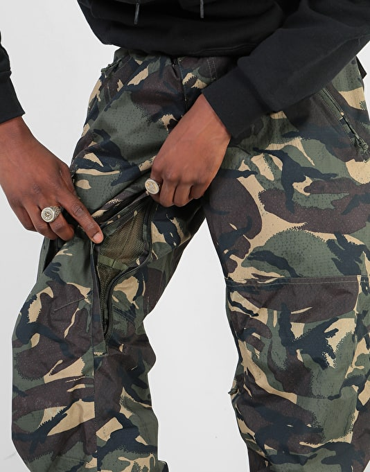 Burton Covert Insulated 2019 Snowboard Pants - Seersucker Camo