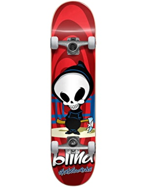 Blind Retro Reaper Soft Wheel Mini Complete Skateboard - 7.375