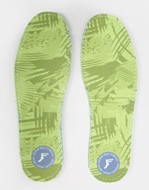 Footprint Green Camo Kingfoam Flat 3mm Insoles
