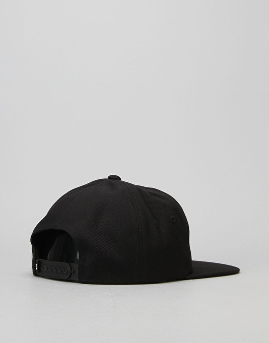 DC Outthere Snapback Cap - Black