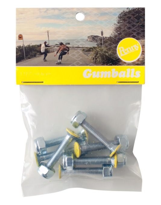 """Penny Gumballs Phillips Bolts - 1.25"""""""