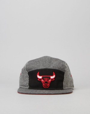 Mitchell & Ness NBA Chicago Bulls 5 Panel Cap - Black/Grey
