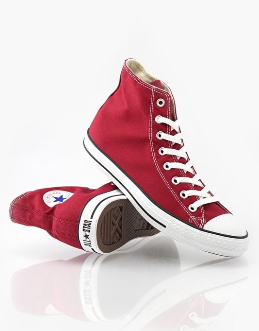 Converse Chuck Taylor Hi All Star Trainers - Cranberry
