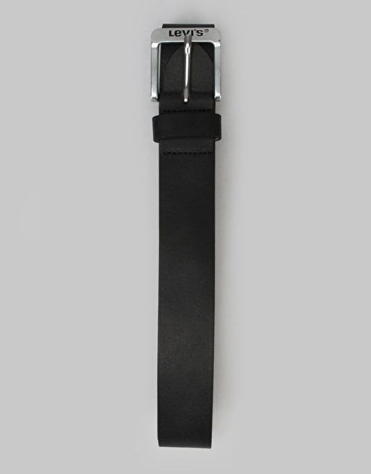 Levis Free Leather Belt - Regular Black