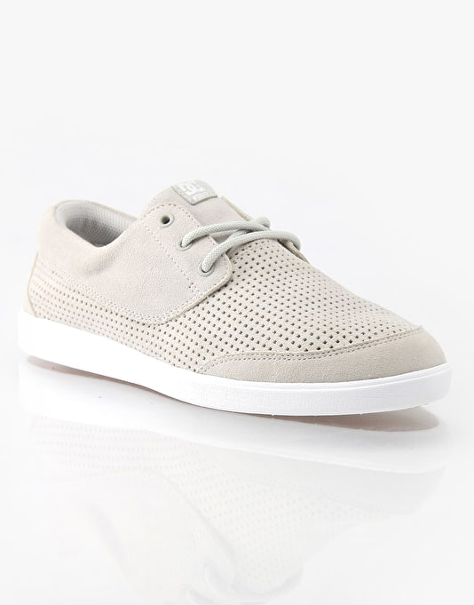 DC Pool LE Skate Shoes - Silver