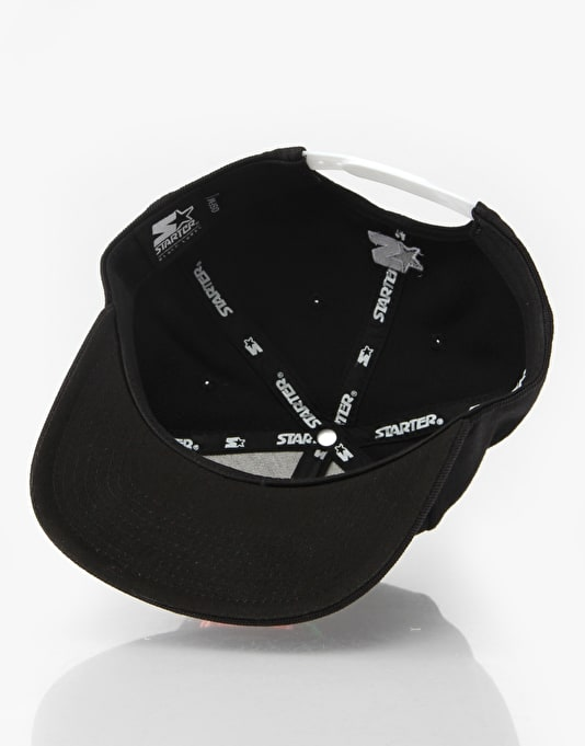 Scarred For Life Rose Snapback Cap
