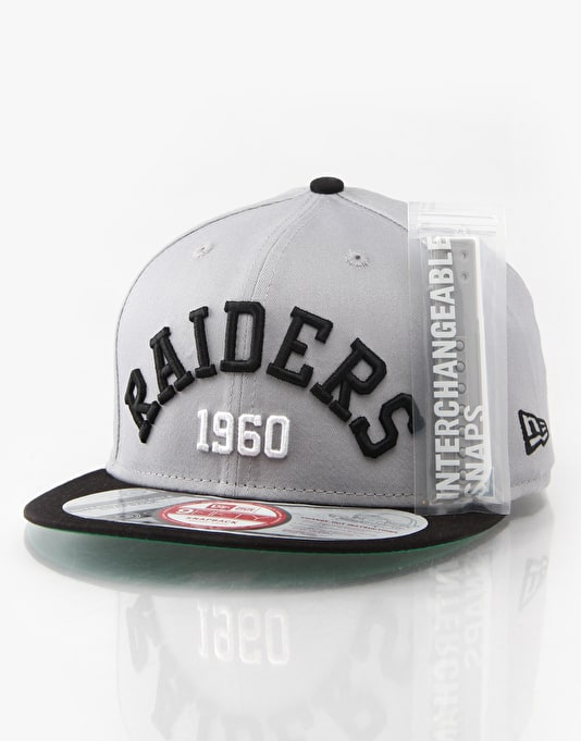 New Era NFL Oakland Raiders Arch Date Cap