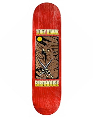 Birdhouse Hawk Knives Skateboard Deck - 8.125
