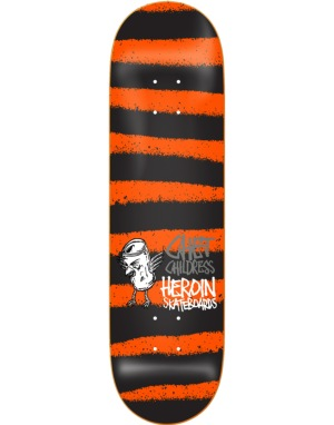 Heroin Childress Striped Icon Pro Deck - 8.5