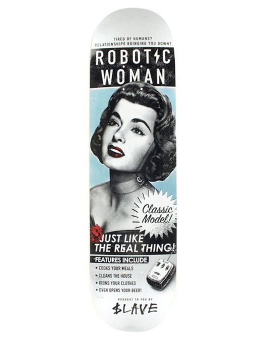 $lave Robotic Woman Team Deck - 8.125""