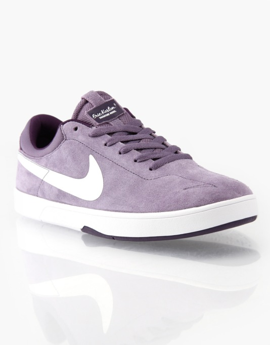Nike SB Eric Koston 1 Skate Shoes - Canyon Purple/White