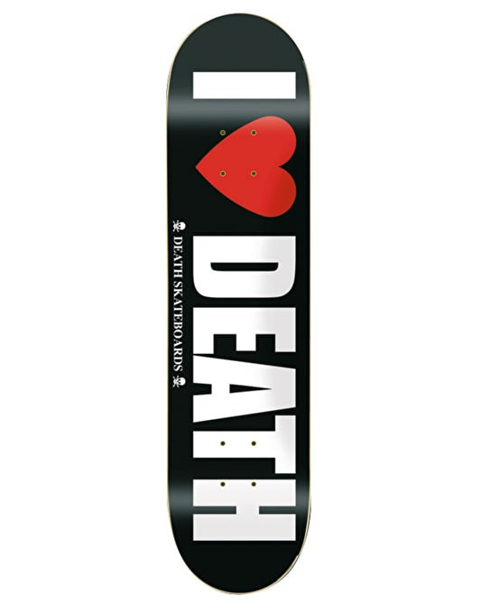 Death I Heart Death Team Deck - 8""