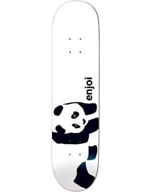 Enjoi Whitey Panda Skateboard Deck - 8