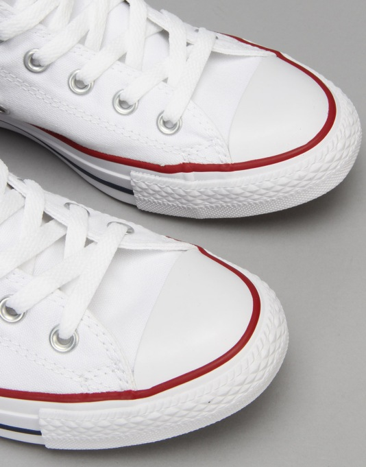 Converse All Star Hi-Top Trainers - Optical White