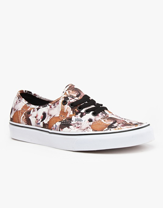 Vans Authentic Skate Shoes - ASPCA Cats