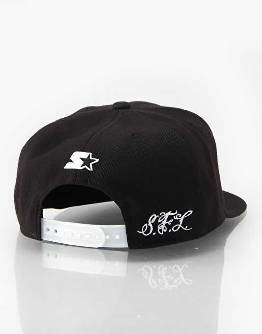 Scarred For Life Logo Snapback Cap