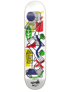 Cliché x Nils Inne Mirtain Impact Light Pro Deck - 8.25