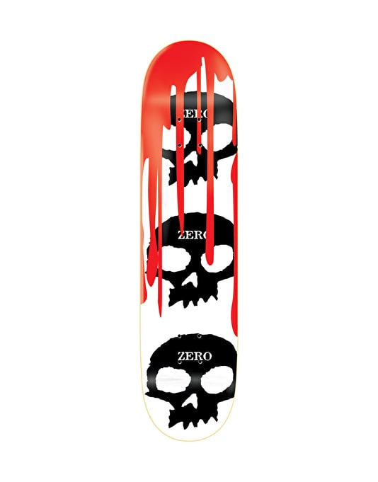 Zero 3 Skulls with Blood Team Deck - 8.125""