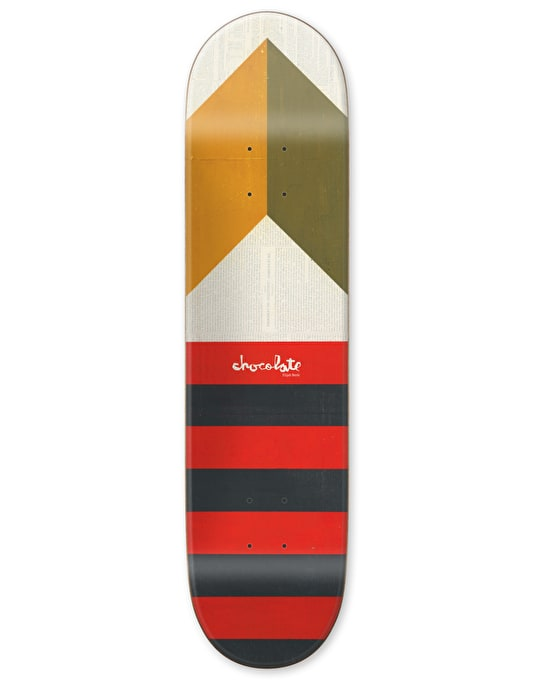 Chocolate Berle Battle Flag Pro Deck - 8.5""