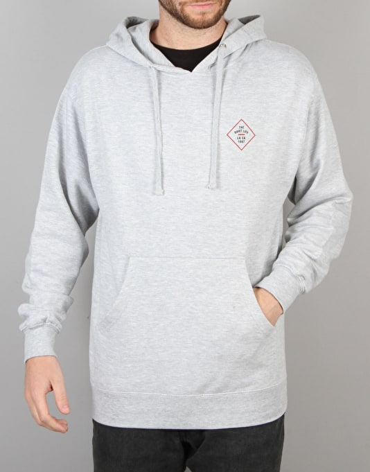 The Quiet Life Traveller Pullover Hoodie - Heather Grey