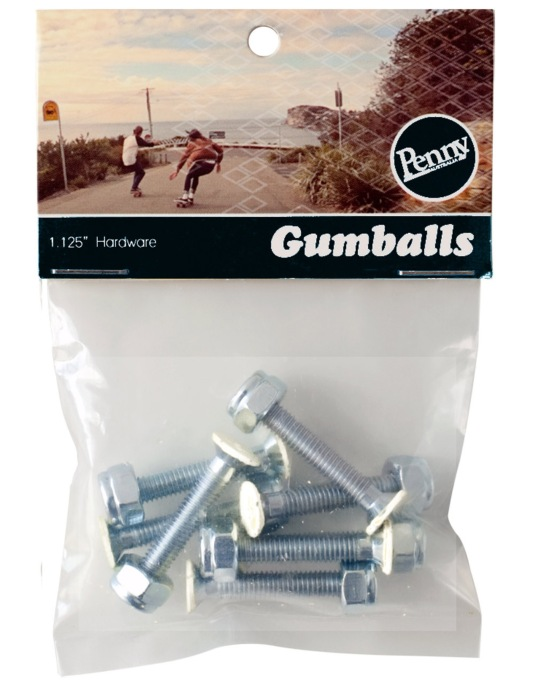 Penny Gumballs Phillips Bolts - 1.25""