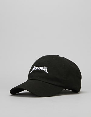 40's & Shorties Deez Nuts Unstructured Strapback Cap - Black
