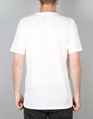 Nike SB Icon Seat Cover T-Shirt- White/Black