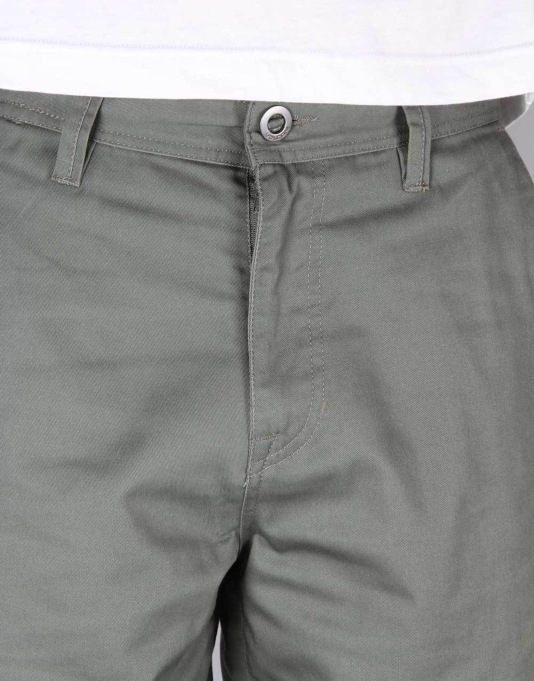 Volcom Frickin Chino Shorts - Old Blackboard