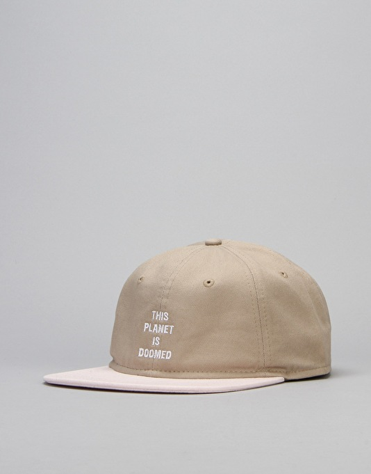The Killing Floor Other Worlds Unstructured Strapback Cap - Khaki/Pink