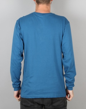 Santa Cruz Classic Dot Longsleeve T-Shirt - Deep Blue