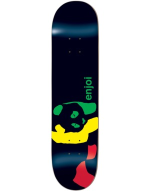 Enjoi Rasta Panda Team Deck - 8.1
